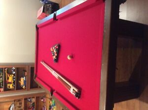 slate dufferin pool table