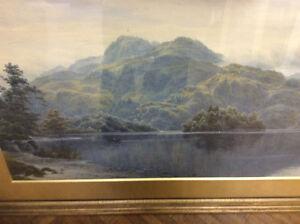 Watercolour Loch Lomond  JJ Bannantyne Scottish New Price