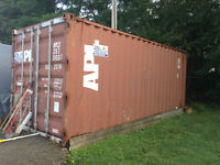**SOLD**** PPU....HAVE DEPOSIT.Metal shipping/storage container.