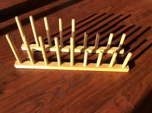 15 Wooden Plate Rack/Stands Cambridge Kitchener Area image 4