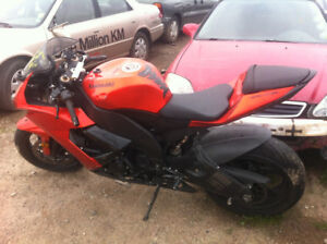 WRECKED 2009 zx10r