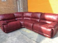 Harvey's governor corner sofa reclining ex display model