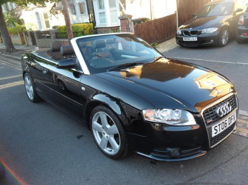 2006 audi a4 cabriolet 2 0t fsi multitronic s line. Black Bedroom Furniture Sets. Home Design Ideas