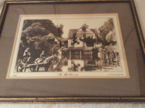"""""""THE MILL POOL"""" 1890 - The Francis Frith Collection 1981 !"""