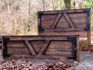 Solid Wood Rustic Furniture From BC !
