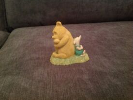CLASSIC POOH HAVING A REST