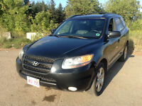 2007 Hyundai Santa Fe L 3.3 v6 dohc leather 2 YEAR WARRANTY !!!!