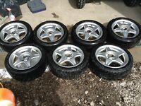 Speedline Minstrel Alloy Wheels Vauxhall Corsa Nova Astra