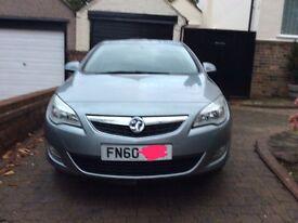 Vauxhall Astra exclusive CDTI EFLEX diesel