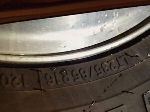 Wanted 235 85R 16 tire & rim