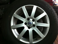 Winter Tires Used For Sale Volvo XC 90 With Mags 235-65-17