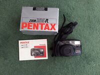 PENTAX ZOOM 105R CAMERA, 35mm, IN ORIGINAL BOX