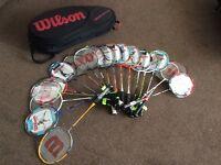 Wilson Badminton Raquets
