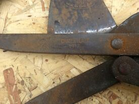 WW1 Wire Cutters and Axe