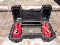 Trapper Quad Case with 2 gas cans