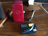 Metronome, Quick Tune, Foot Rest for Musicians