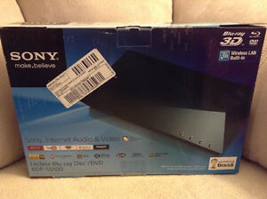 Sony 3D BluRay Player (In Box) with Wifi Netflix,Apps etc.
