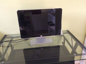 HP monitor, integrated speakers