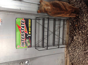 NASCAR Intestate Battery Rack