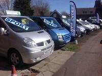 FOR SALE VAUXHALL VIVARO, RENAULT TRAFIC, FORD TRANSIT, FIAT SCUDO, *NO VAT*