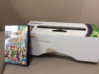 Xbox 360 Kinect sensor and Kinect adventure game