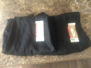 2 pair Brand New Black work pants