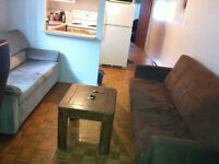 Subletting my furnished apartment for 3 to 5 months