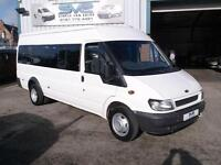 55REG FORD TRANSIT 17 SEAT MINIBUS / BUS WITH ULTRA LOW 38000 MILES VERY CLEAN!
