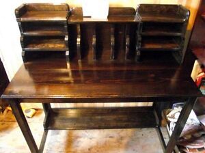 New Hand Made Computer desk, Stunning Old style, vintage look.