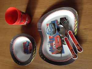 Disney Cars Dish Set