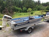 BASS BOAT/MOTOR/TRAILER FOR SALE BY OWNER