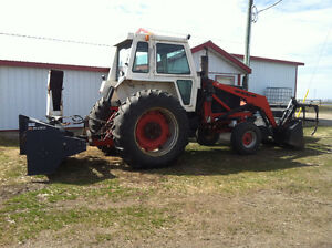 1975 - 1070 case tractor -105 hp engine.