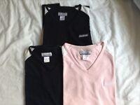 3 ladies reebok tshirts