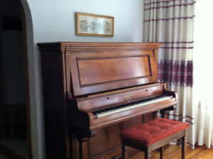 Newby and Evans New York Parlor Grand Piano