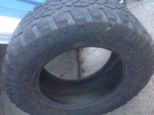 TWO ODD 20 TIRES, GREAT FOR SPARES