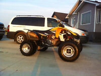 Yamaha YFZ 450 quad in Mint condition!