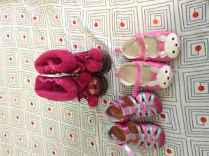 Baby shoes and boots