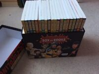 Collection of 20 horrible histories books