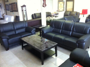Genuine Leather ( Sofa + Loveseat )