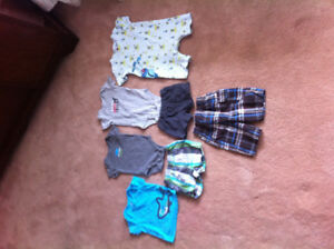 3 month boys summer outfits