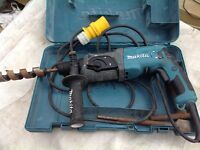 Makita hammer drill 240v