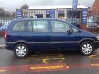 Vauxhall/Opel Zafira 1.6i 16v 2004MY Club 12 months mot 7 seater