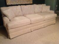 Cream/White Couch