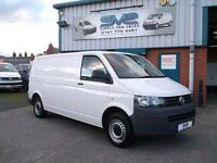 2012 12 VW TRANSPORTER T5 T30 TDI LWB 102 BHP WITH ELECTRIC PACK CHOICE @ SVS