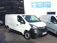 64 VAUXHALL VIVARO 1.6CDTi 115PS 2014 2900 L1H1 SWB NEW SHAPE SHORT WHEELBASE