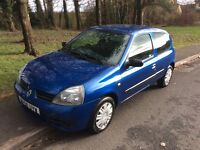 2008 Renault Clio 1.1 Campus-50,000 miles-2 owners-12 months mot-great value