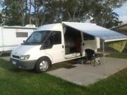 Ford Transit Van 2003 2.4 TDi VH LWB Mid Roof Camper Van Mornington Mornington Peninsula Preview