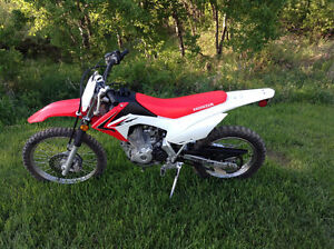 2015 Honda CRF 125FB (Big Wheel)