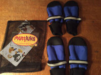Brand New - Muttluks Winter Dog Boots, set of 4, size LARGE