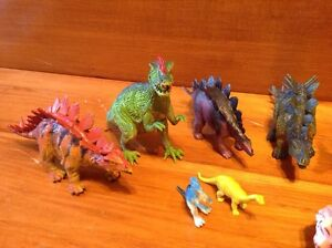 Lot of animals and Dinosaur rubber plastic toys Windsor Region Ontario image 2